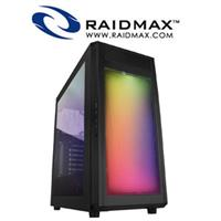Raidmax Alpha A15WLB RGB Windowed Gaming PC Case