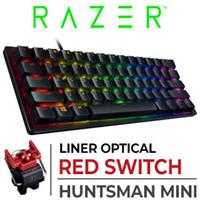Razer Huntsman Mini Gaming Keyboard - Red Switches - Black