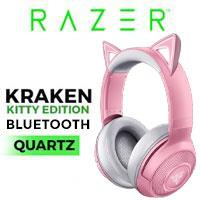 Razer Kraken Kitty Edition BT Headset - Quartz