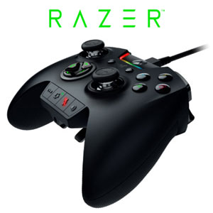 Razer Wolverine Ultimate Controller For XBox One/PC / Razer Chroma Lighting / Interchangeable Thumbsticks And D-Pad / 6 Additional Remappable Bumpers & Triggers / 4 Multi-Function triggers