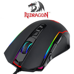 REDRAGON Ranger 12400DPI RGB Gaming Mouse