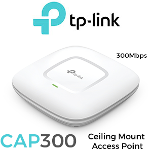 TP-Link CAP300 Wireless N Ceiling Mount Access Point