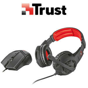 Trust GXT 784 Gaming Headset & Mouse Combo