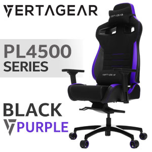 Vertagear PL4500 Gaming Chair Black / Purple