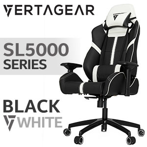 Vertagear SL5000 Gaming Chair Black / White