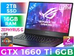 ASUS GA502DU Ryzen 7 GTX 1660 Ti Gaming Laptop With 2TB SSD
