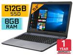 ASUS VivoBook 15 F542UA i5 Laptop With 512GB SSD & 8GB RAM
