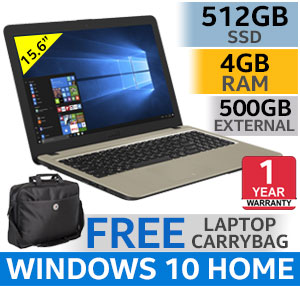 "ASUS VivoBook F540MA 15.6"" Intel Dual Core Laptop With 512GB SSD"