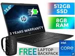 HP 15-dw3016ni 11th Gen Core i7 Laptop With 512GB SSD