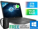"HP 255 G7 15.6"" AMD Laptop 203B5EA With 16GB RAM & 2TB SSD"
