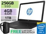 HP Notebook 15-bs152ni Core i3 Laptop With 256GB SSD