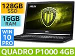 MSI WE63 8SI 8th Gen Core i7 Laptop With 128GB SSD