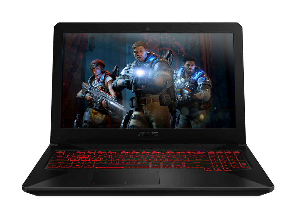 ASUS FX504GD CORE i5 GTX 1050 GAMING LAPTOP WITH 128GB SSD AND 16GB RAM