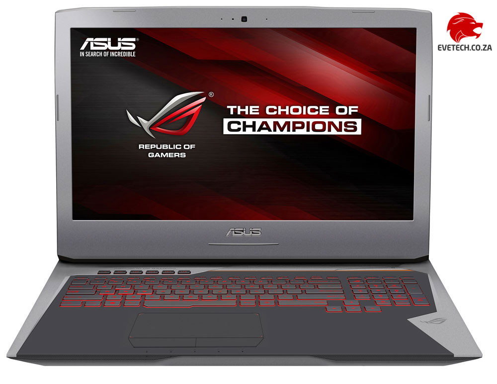 ASUS ROG G752VM Core i7 GTX 1060 Gaming Laptop Deal