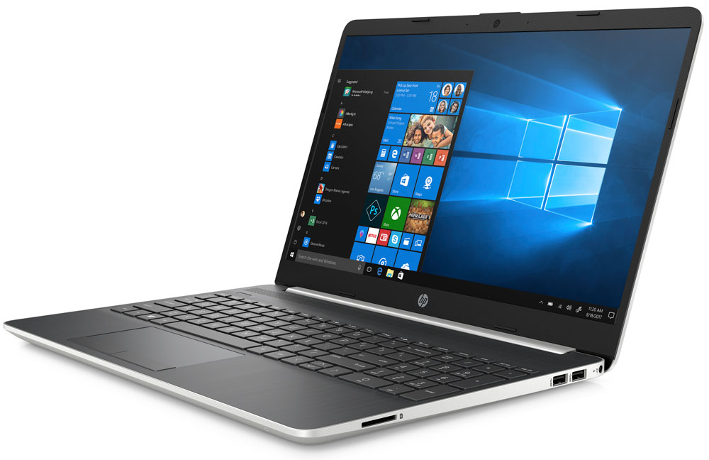 HP 15 Core i3 Laptop 7DQ51EA With 128GB SSD And 8GB RAM