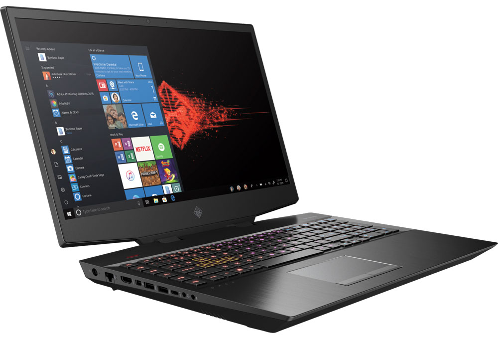HP OMEN 17 Core i7 RTX 2070 Gaming Laptop
