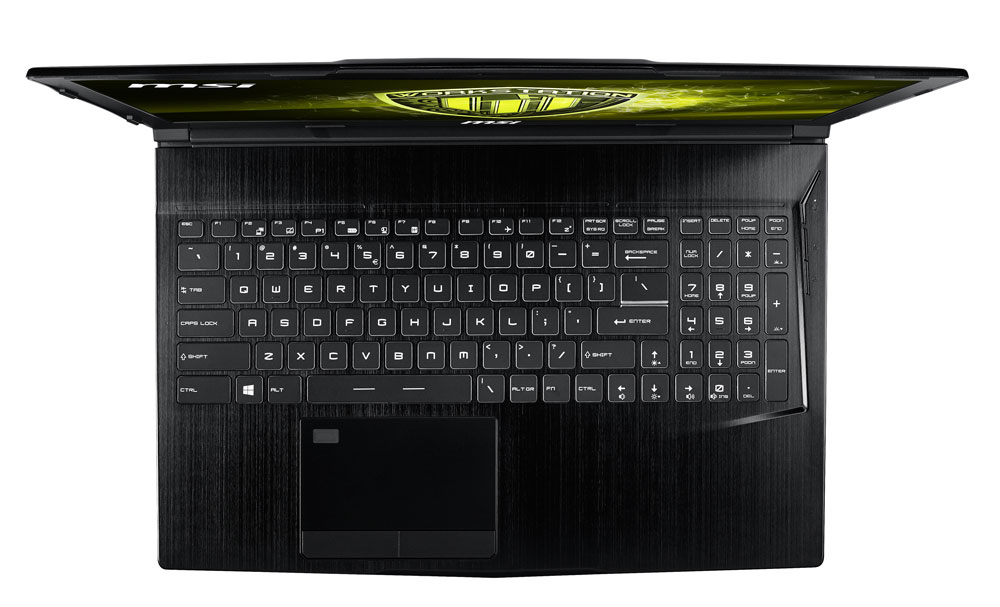 MSI WE63 8SI 8th GEN CORE i7 QUADRO P1000 WORKSTATION LAPTOP WITH 256GB SSD