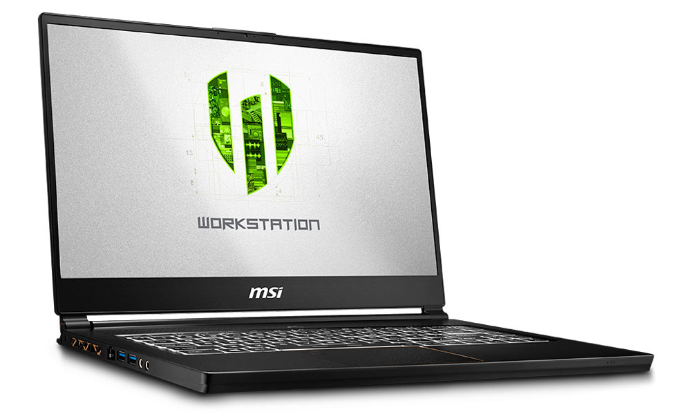 MSI WS65 8SK 8th Gen Core i7 Workstation Laptop
